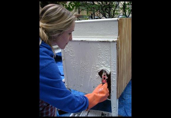 Como pintar muebles de madera - Aprender a pintar en madera ...